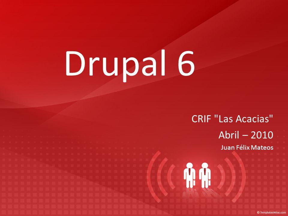 Drupal 6 CRIF