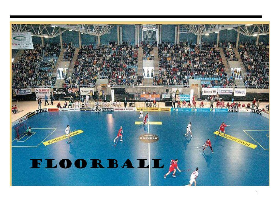 12 DESTREZAS BASICAS DEL FLOORBALL EL PASE 1) Mantener la bola pegada a la pala.
