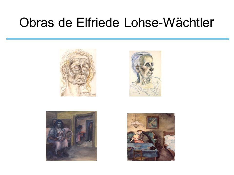 Obras de Elfriede Lohse-Wächtle r