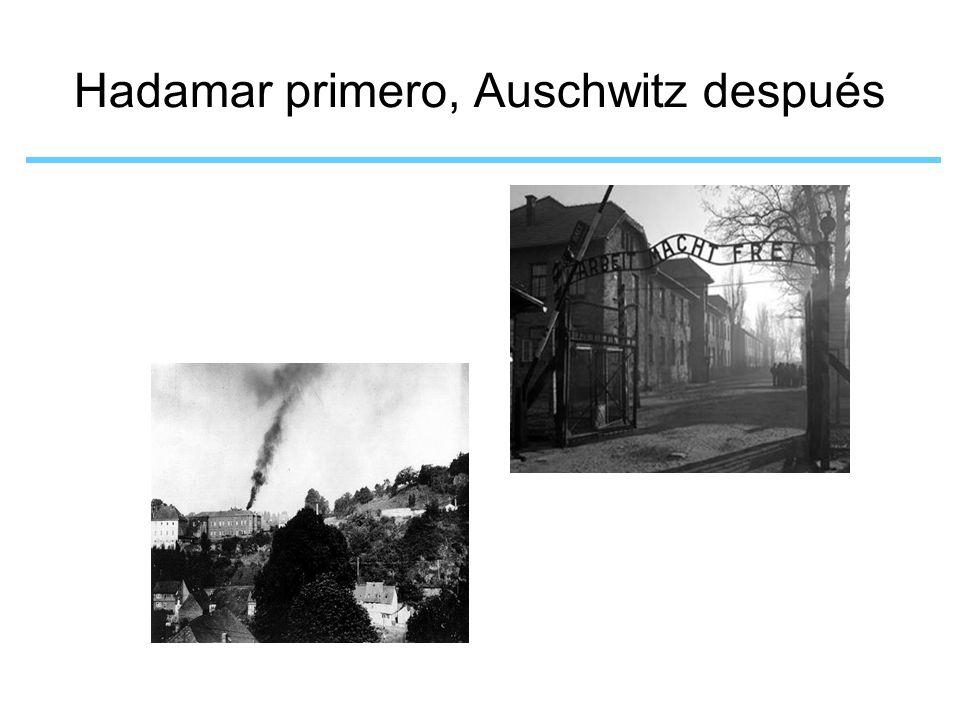 Hadamar primero, Auschwitz después