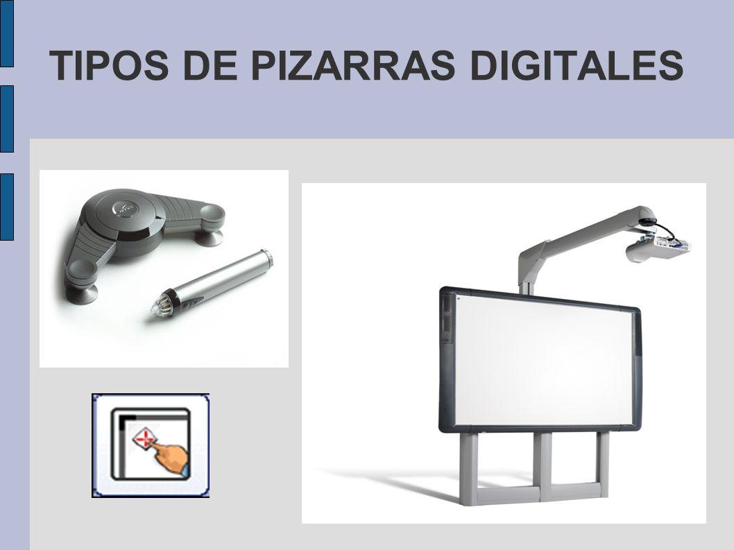 TIPOS DE PIZARRAS DIGITALES