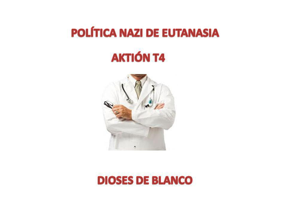 Centros de eutanasia y los hospitales mentales relacionados