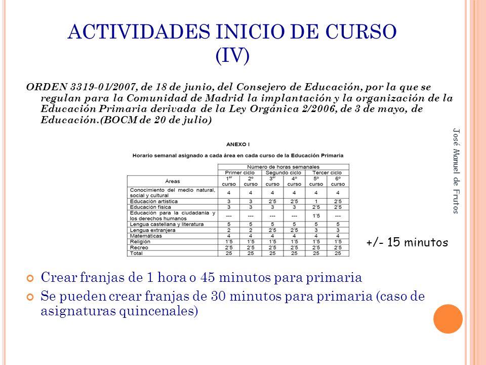José Manuel de Frutos Ejercicio práctico 3 o En la junta de evaluación del tercer ciclo, se acuerda aprobar la educación artística del alumno AAA del segundo ciclo, así como promocionarle a ESO.
