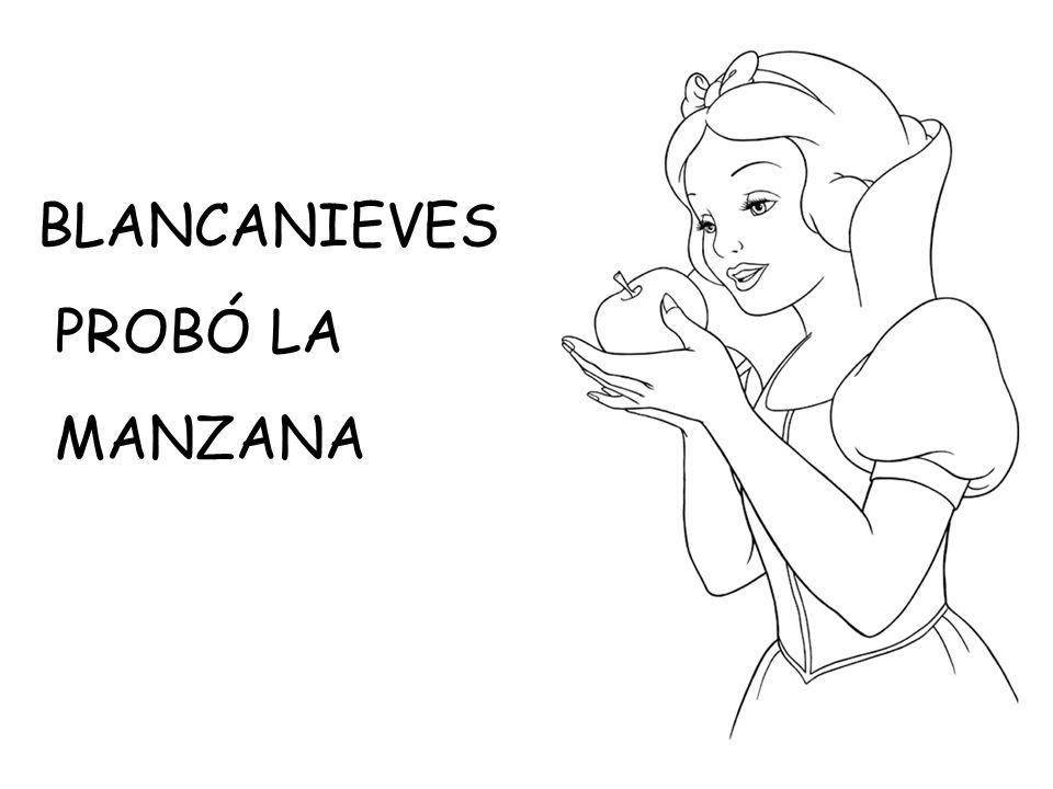 BLANCANIEVES PROBÓ LA MANZANA