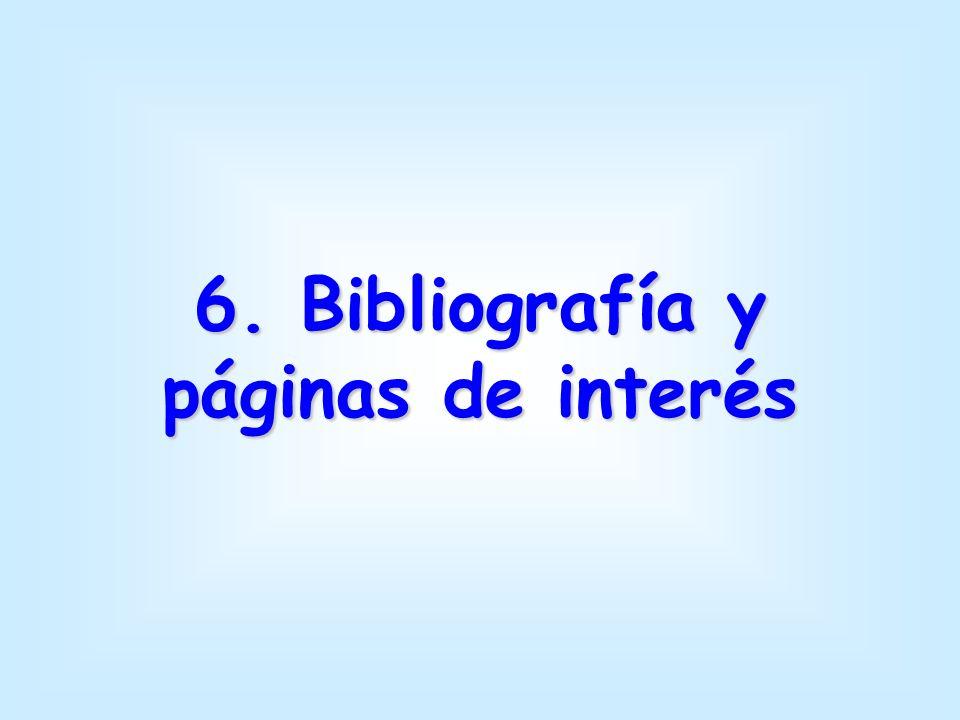 6. Bibliografía y páginas de interés