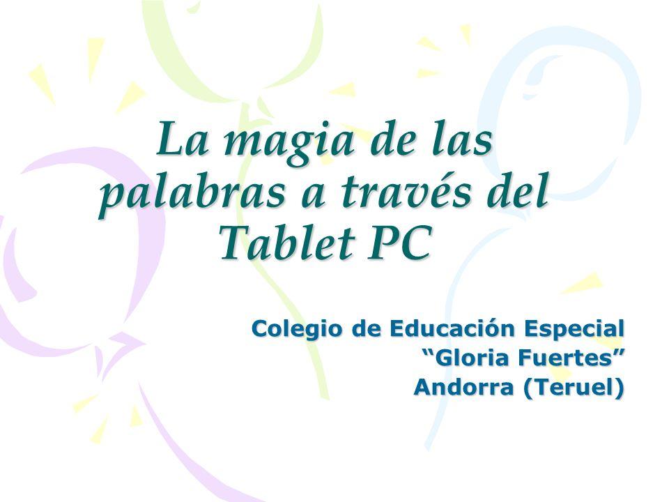 ASPECTOS A MEJORAR Contar con un solo Tablet PC en el aula.