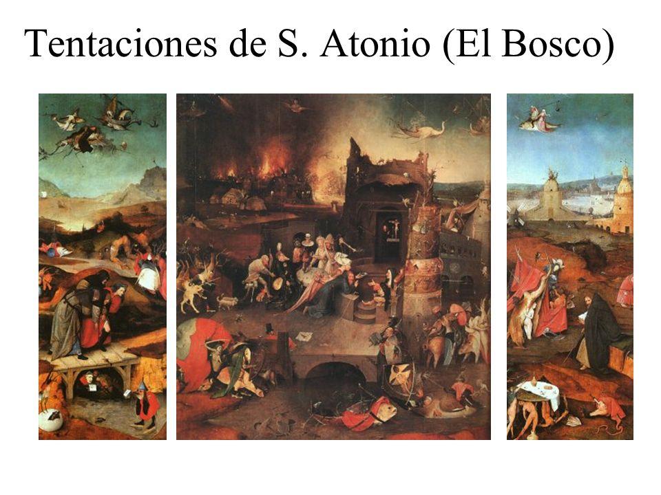 Tentaciones de S. Atonio (El Bosco)