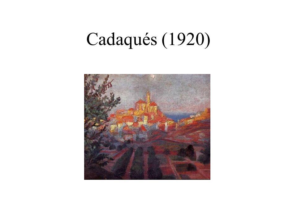 Dalí desnudo (1954) Cataclismo geológico de los Pirineos hundidos en el Mediterráneo.