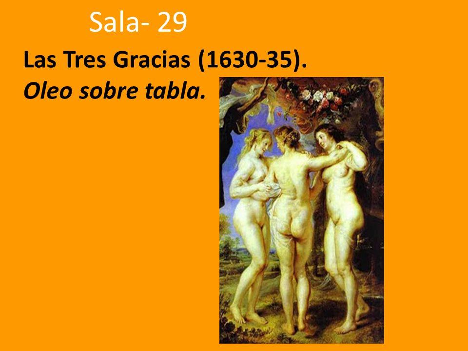 Las Tres Gracias (1630-35). Oleo sobre tabla. Sala- 29