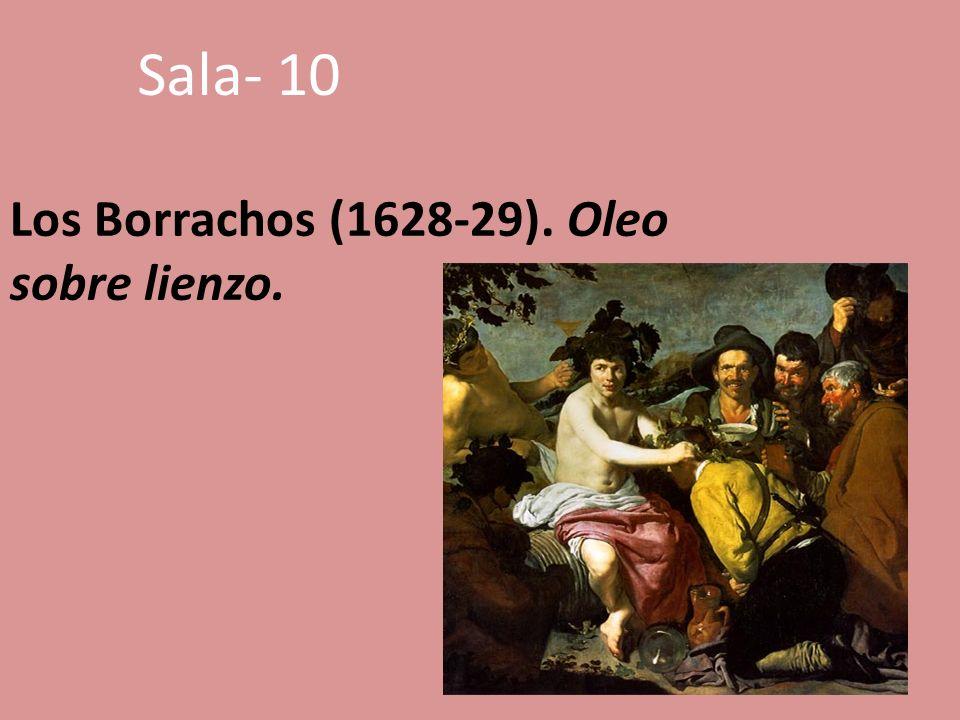 Los Borrachos (1628-29). Oleo sobre lienzo. Sala- 10