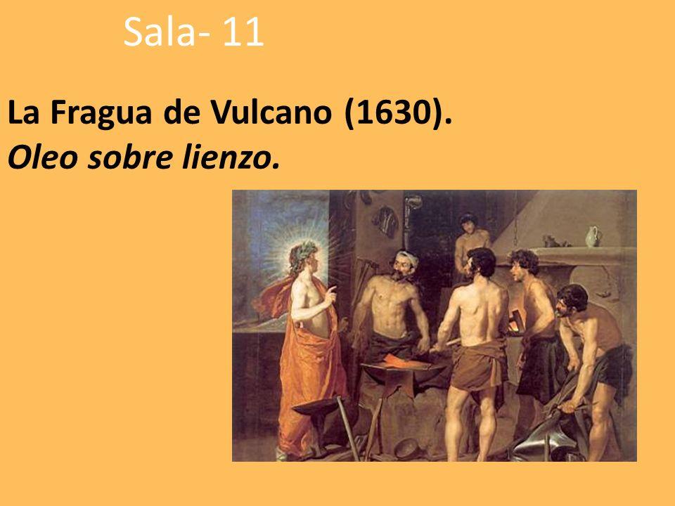 La Fragua de Vulcano (1630). Oleo sobre lienzo. Sala- 11