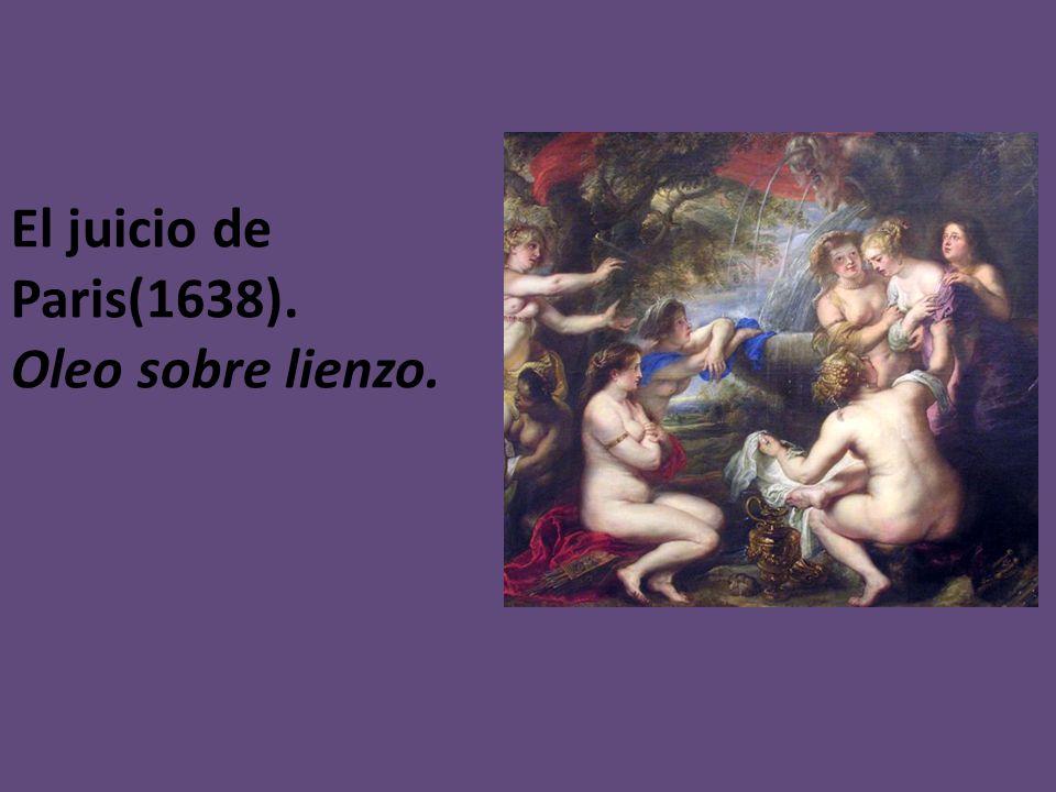El juicio de Paris(1638). Oleo sobre lienzo.