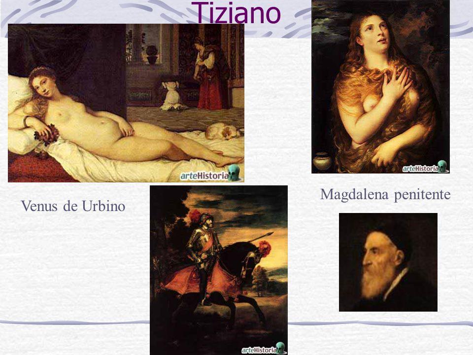 Venus de Urbino Tiziano Magdalena penitente