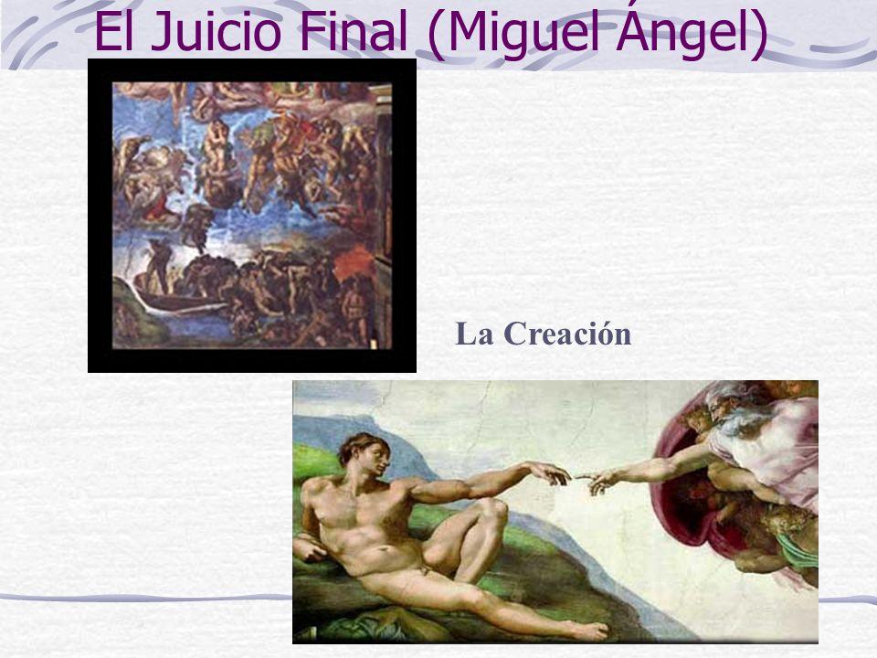 El Juicio Final (Miguel Ángel) La Creación