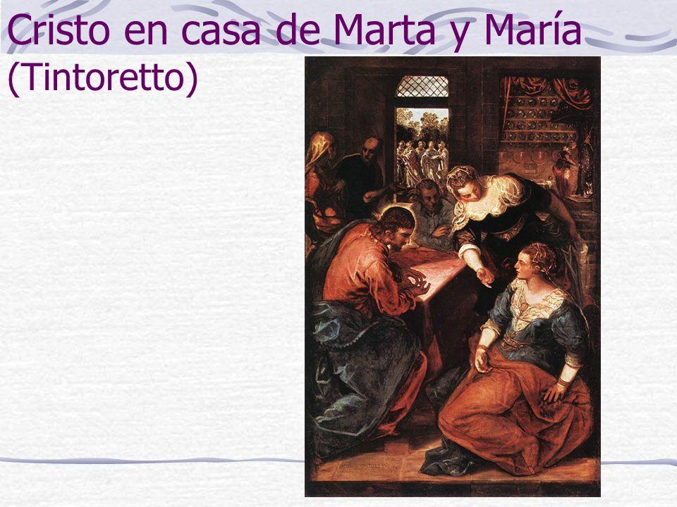 Cristo en casa de Marta y María (Tintoretto)