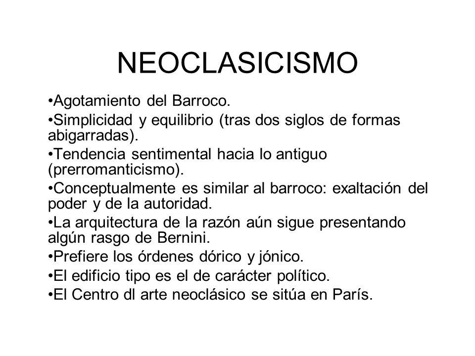 Circunstancias que favorecen el desarrollo del Arte Neoclásico.