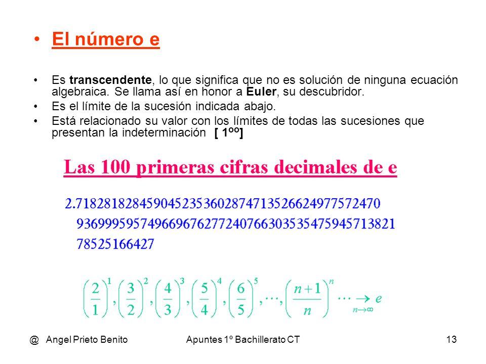 @ Angel Prieto BenitoApuntes 1º Bachillerato CT14 Ejemplo inicial