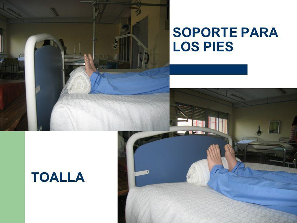 SOPORTE PARA LOS PIES TOALLA