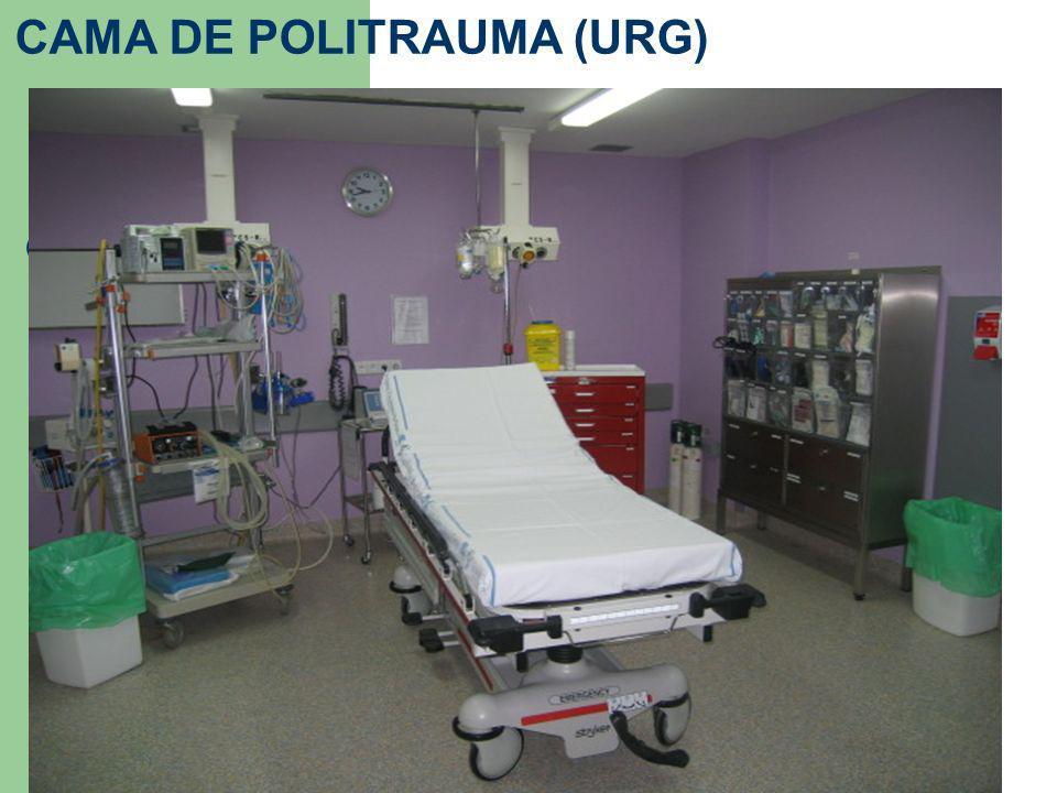 CAMA DE POLITRAUMA (URG)