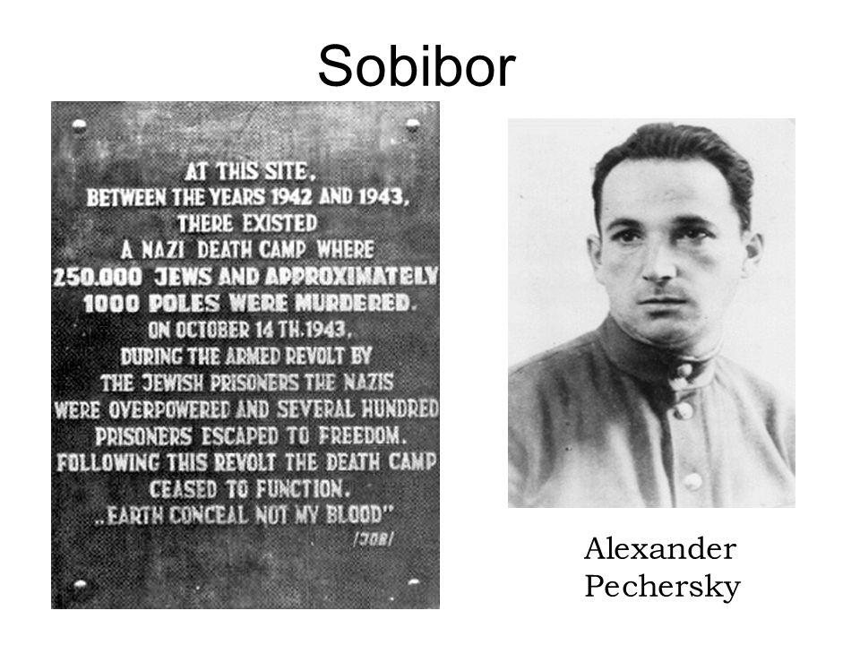 Sobibor Alexander Pechersky