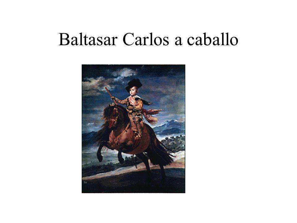 Baltasar Carlos a caballo