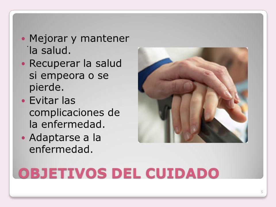 Labor del AE en la EPS.A. PRIMARIA: Estado de Salud (mantener y mejorar) A.