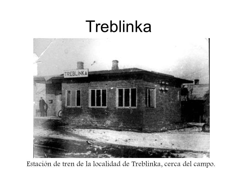 Treblinka Estación de tren de la localidad de Treblinka, cerca del campo.