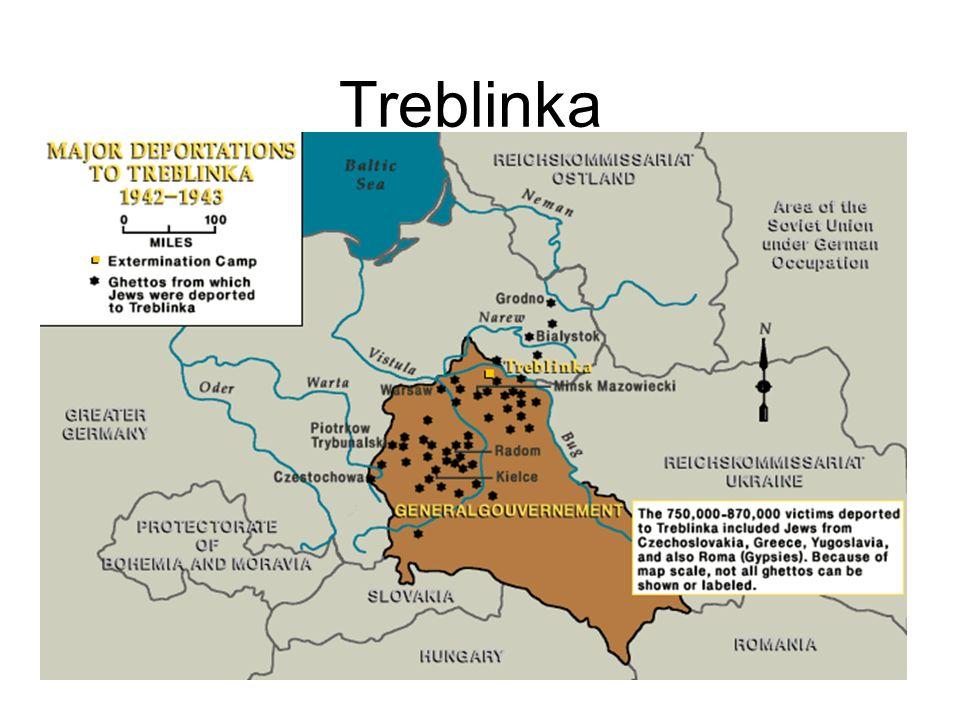 Treblinka Foto aérea de los restos del campo tomada en Septiembre de 1944.