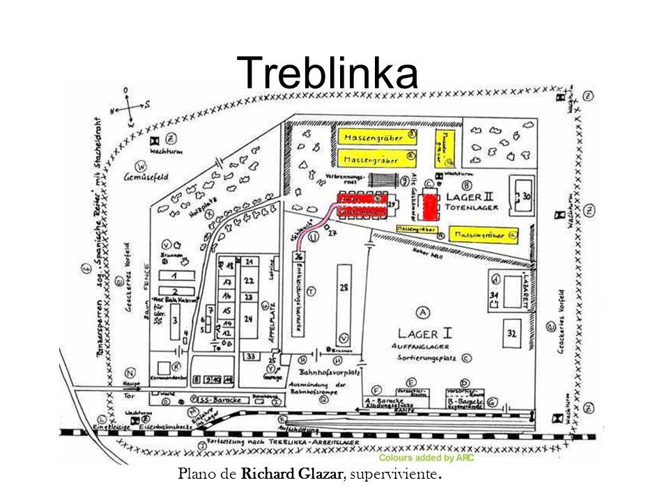 Treblinka Plano de Samuel Willenberg.