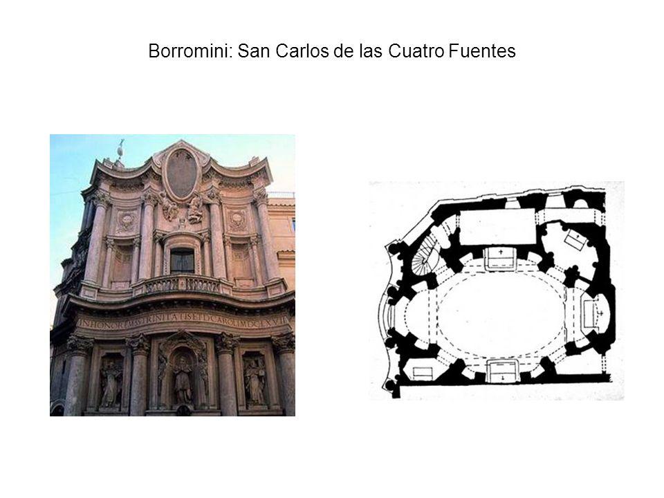 Borromini: San Carlos de las Cuatro Fuentes