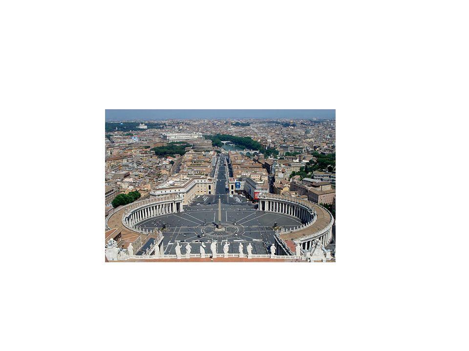 Bernini y su columnata de la Plaza de San Pedro, Levau y Mansart y el Palacio de Versalles (jardinería)