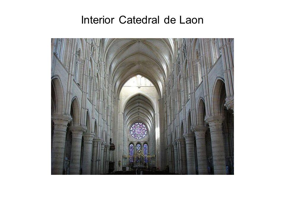 Interior Catedral de Laon