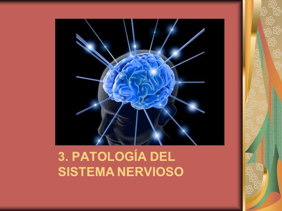 3. PATOLOGÍA DEL SISTEMA NERVIOSO