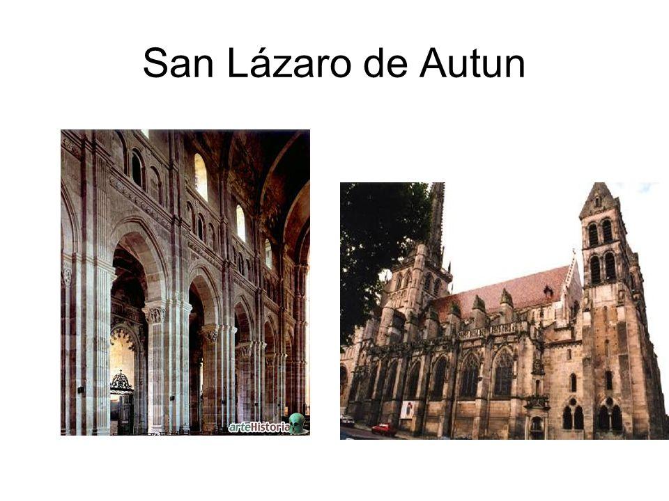 POITOU Características: Influencia Bizantina (campanarios cubiertos por un cono de escamas.