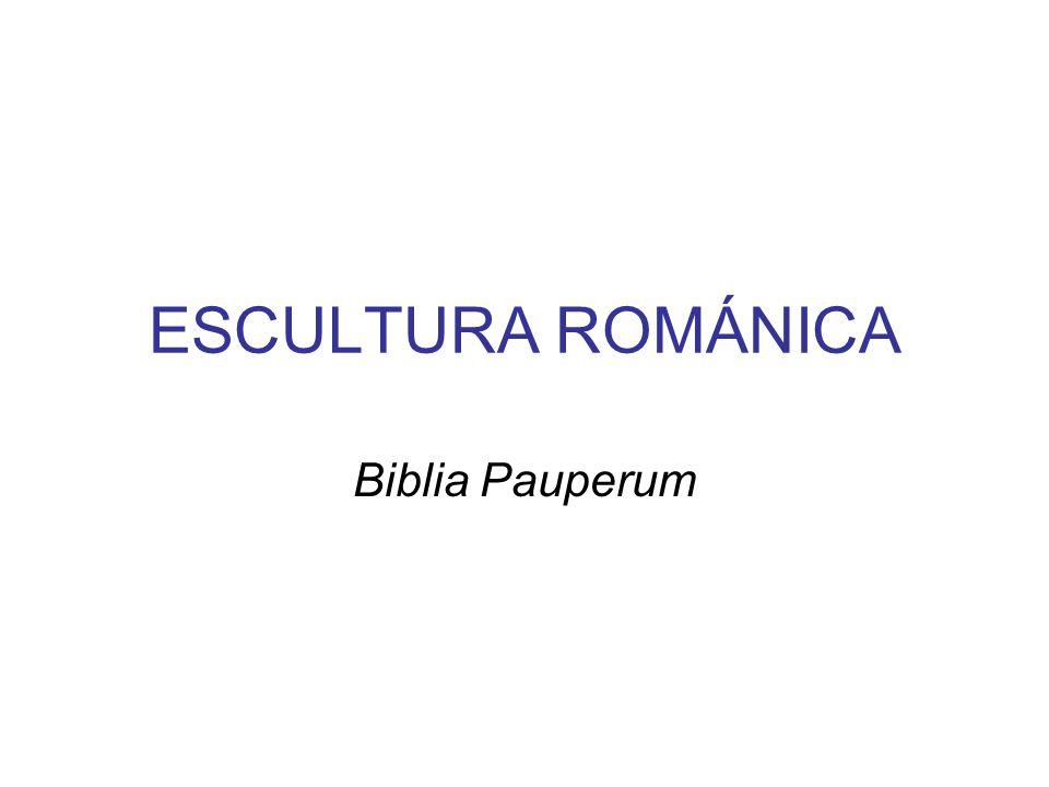 Características principales de la escultura románica Meramente decorativa, pero además desarrolla una función didáctica o de adoctrinamiento.