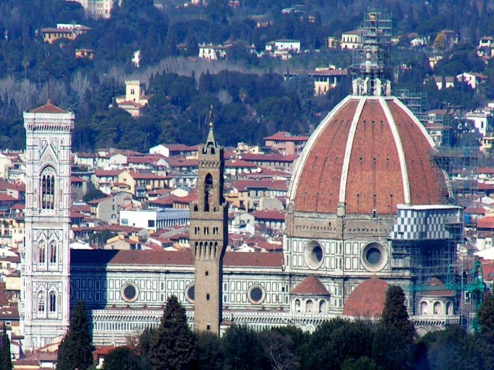 La Basílica de Santa Maria del Fiore es la catedral (Duomo, en italiano) de la archidiócesis católica romana de Florencia, notable por su cúpula.