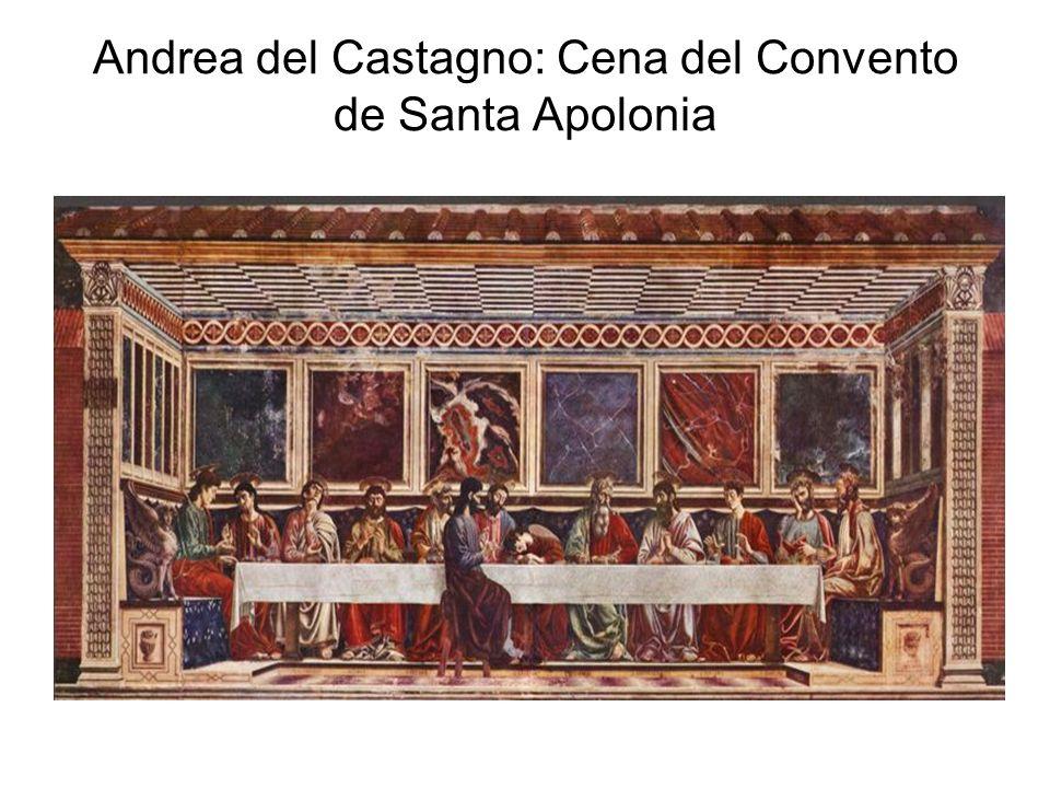 Andrea del Castagno: Cena del Convento de Santa Apolonia