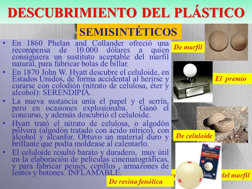 Primer plástico sintético termoestable a partir del fenol y del formaldehido.