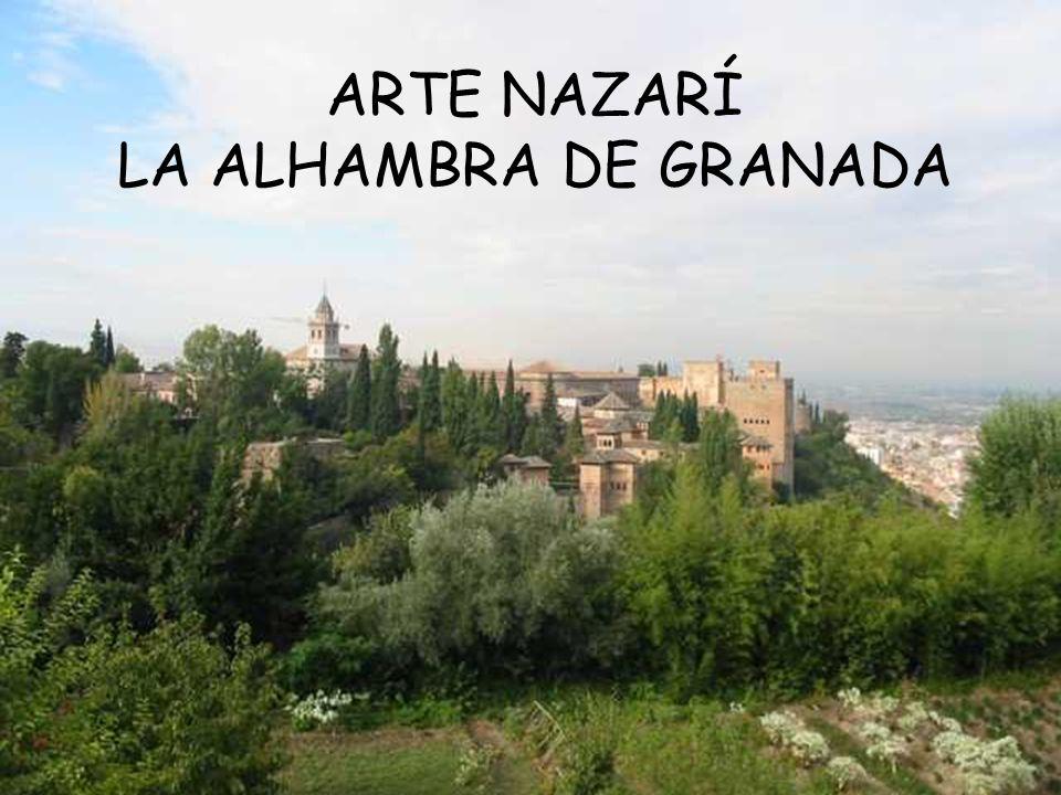 ARTE NAZARÍ LA ALHAMBRA DE GRANADA