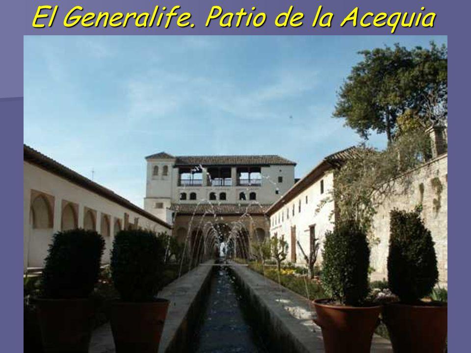 El Generalife. Patio de la Acequia