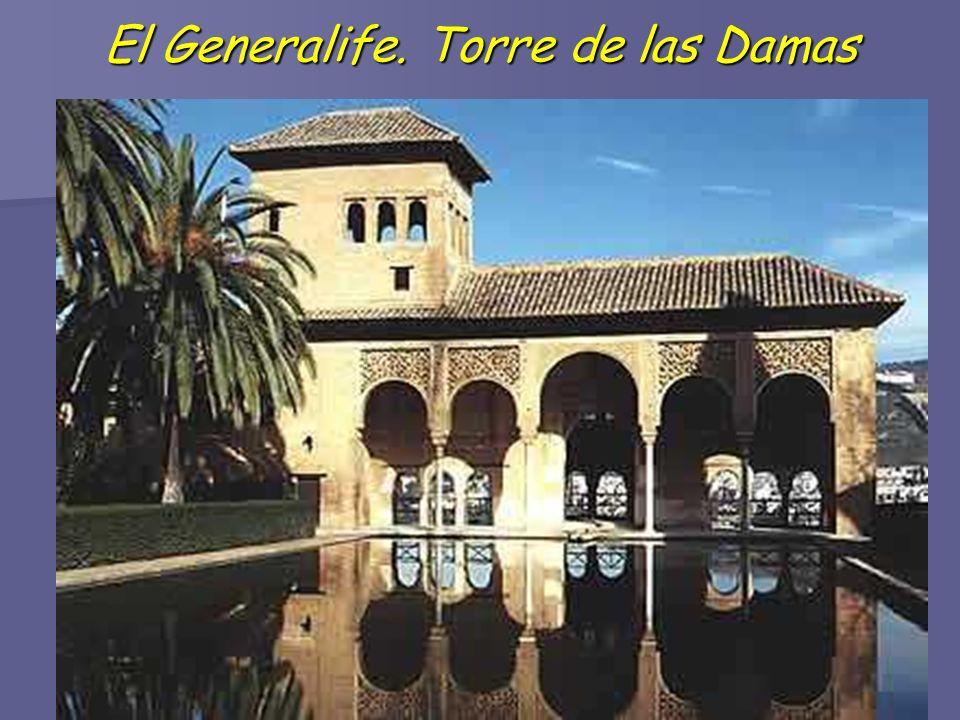 El Generalife. Torre de las Damas