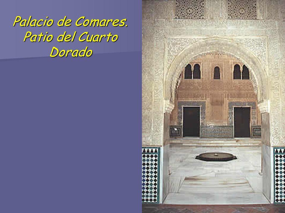 Palacio de Comares. Patio del Cuarto Dorado