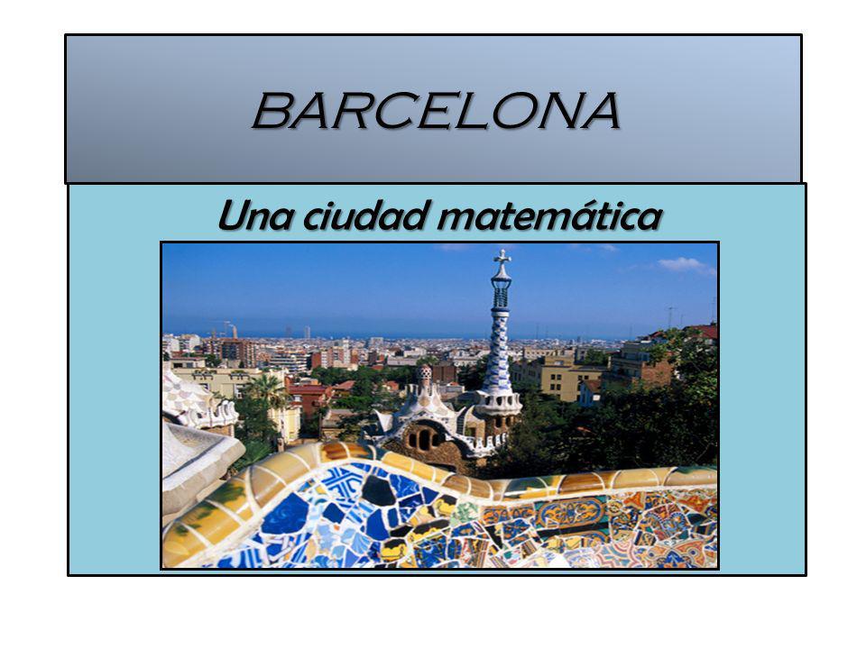 BARCELONA Una ciudad matemática