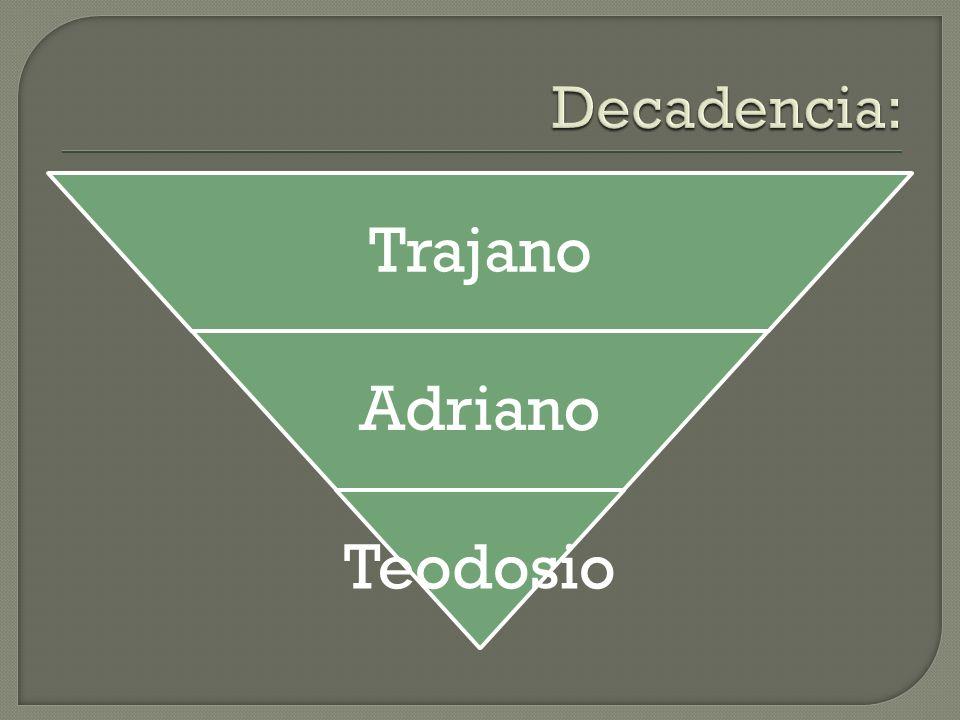 Trajano Adriano Teodosio