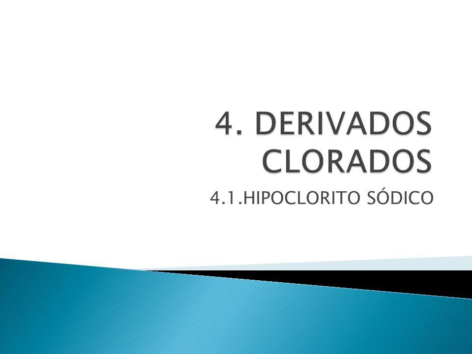 4.1.HIPOCLORITO SÓDICO