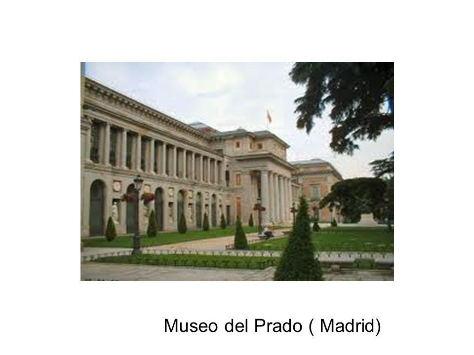 El museo del Prado es un edificio construido únicamente para dar un espacio de cultura y un lugar donde poder exponer grandes cuadros, esculturas, mesas, y otras grandes cosas importantes de arte que son el fruto de autores de todo el mundo.
