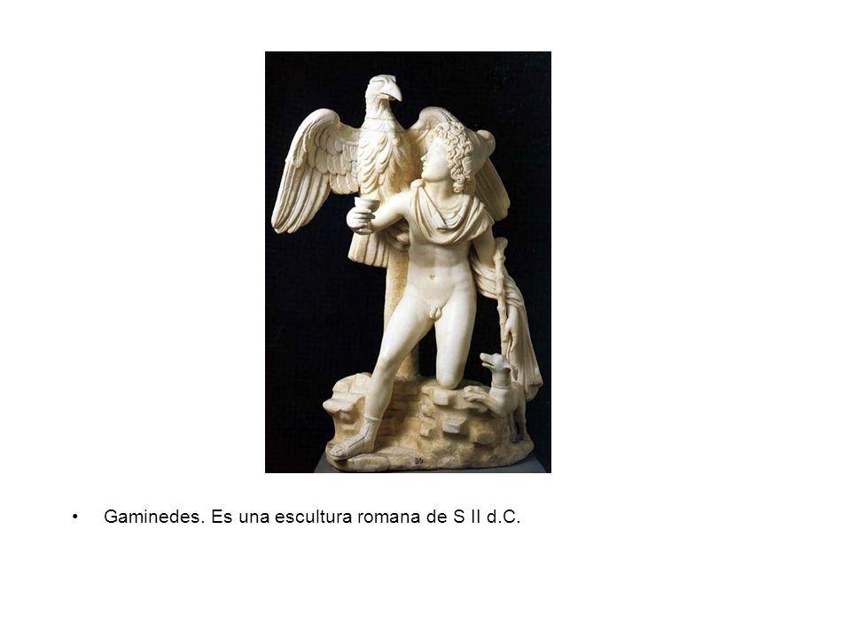 Sarcófago de Aquiles y Polixena. Es una escultura romana del S III d.C.