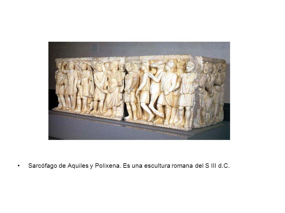 Centauros y Lapitas. Escultura griega.