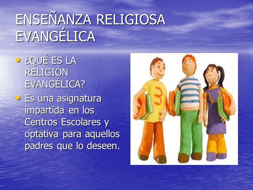 Es la asignatura de religión impartida desde la perspectiva bíblica que caracteriza al cristianismo evangélico.