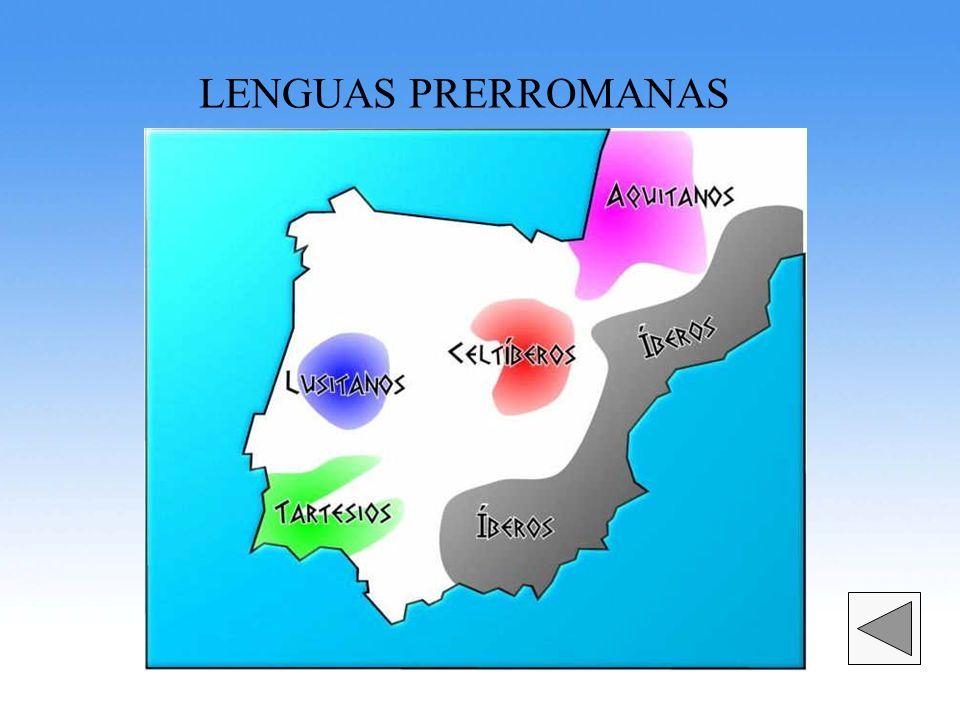 LENGUAS PRERROMANAS